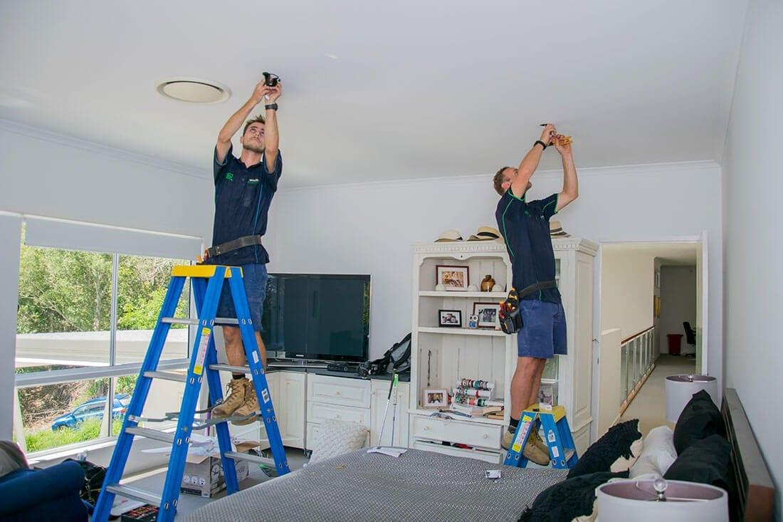 On the Job - Brisbane Electrical